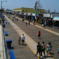 Photo taken at Wildwood Boardwalk by Victor L. on 7/21/2011