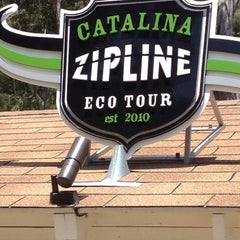Photo taken at Zip Line Eco Tour by Amber C. on 5/6/2012