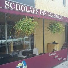 Photo taken at Scholar's Inn Bakehouse by Justin P. on 8/26/2012