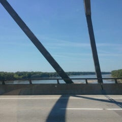 Photo taken at Missouri River by Melissa T. on 7/28/2012