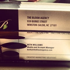 Photo taken at The Bloom Agency by Beth W. on 6/12/2012