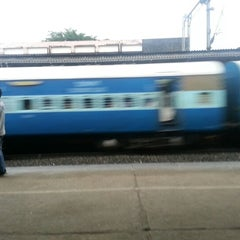 Photo taken at Thrissur Railway Station by Salman K. on 9/9/2012