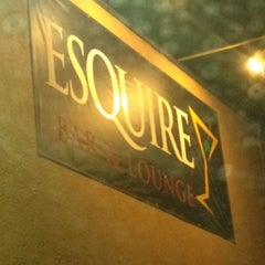 Photo taken at Esquire Bar & Martini Lounge by Victor O. on 8/9/2012