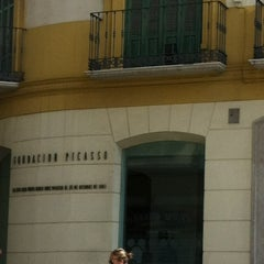 Photo taken at Fundación Picasso - Museo Casa Natal by Micheline J. on 9/5/2012