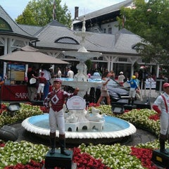 Photo taken at Saratoga Race Course by Phil K. on 7/20/2012