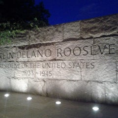 Photo taken at Franklin Delano Roosevelt Memorial by Jason H. on 9/9/2012