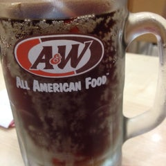 Photo taken at A&W by Joey C. on 4/21/2012