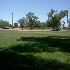 Photo taken at Reid Park by Lorissa B. on 5/26/2012