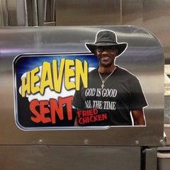 Photo taken at Heaven Sent Chicken by Sabrina B. on 2/28/2012