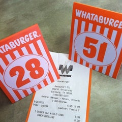 Photo taken at Whataburger by Shelby 🌻 on 8/29/2012