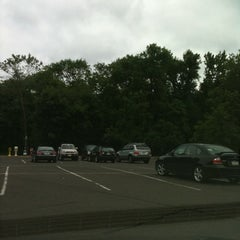 Photo taken at Washington Crossing Park & Ride by Eric G. on 6/17/2012