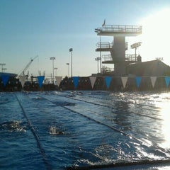 Photo taken at Penn State Outdoor Pool by Gary F. on 6/23/2012
