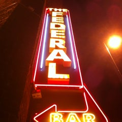 Photo taken at The Federal Bar by Tara M. on 8/21/2012
