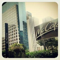 Photo taken at McCafé by Adriana C. on 4/3/2012