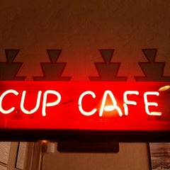 Photo taken at The Cup Cafe by Scott W. on 5/12/2012