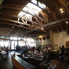 Photo taken at Four Barrel Coffee by Carlos E. on 2/26/2012