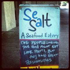 Photo taken at Sea Salt Eatery by Chuck P. on 9/11/2012
