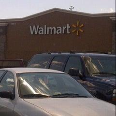 Photo taken at Walmart Supercenter by Rusty G. on 6/23/2012