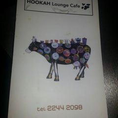Photo taken at Hookah Lounge Cafe by BskoOota on 8/7/2012