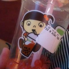 Photo taken at Tea One - Bubble Tea by Tereza P. on 4/6/2012