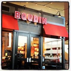 Photo taken at Boudin Bakery Café Fashion Valley by Brittni P. on 5/5/2012