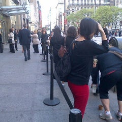 Photo taken at Elie Tahari Company Store by christine y. on 4/20/2012