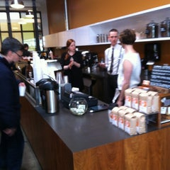 Photo taken at Ristretto Roasters by Liam P. on 4/1/2012