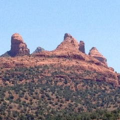 Photo taken at Sedona Red Rocks by Jennifer Kjellgren ~. on 6/3/2012