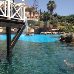 Photo taken at Gran Hotel Bahía del Duque Resort by Nastia D. on 9/5/2012