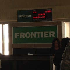 Photo taken at Frontier Airlines by Florentino on 8/25/2012