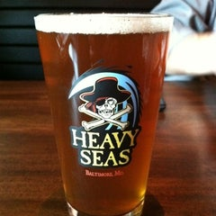 Photo taken at Heavy Seas Alehouse by Jennifer H. on 3/10/2012