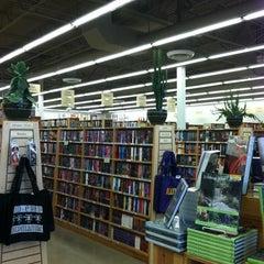 Photo taken at Half Price Books by Monica Z M. on 4/18/2012