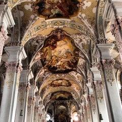 Photo taken at Alter Peter (Katholische Stadtpfarrei St. Peter) by Elcias M. on 7/24/2012
