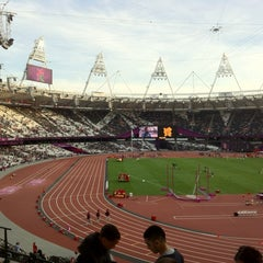 Photo taken at Olympic Stadium by Daniel S. on 9/6/2012