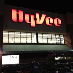Photo taken at Hy-Vee by Joe C. on 5/9/2012