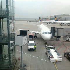 Photo taken at Gate B33 by Hans W. on 6/12/2012