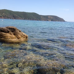 Photo taken at Spiaggia di Lacona by eleonora c. on 6/19/2012