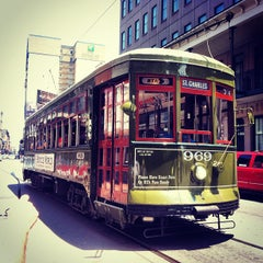Photo taken at St. Charles Avenue Streetcar by dane k. on 5/13/2012