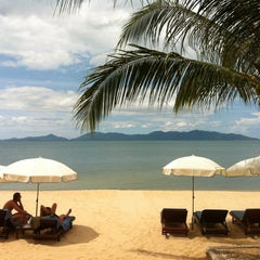 Photo taken at Maenamburi Resort by Kris P. on 5/19/2012