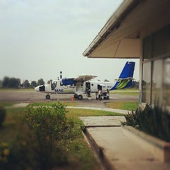 Photo taken at Mukah Airport (MKM) by Keiichi N. on 8/17/2012