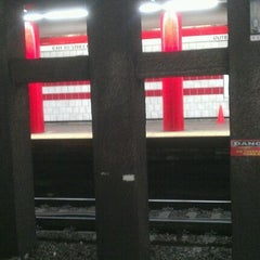 Photo taken at MBTA Red Line by Wendy M. on 5/14/2012