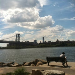 Photo taken at Grand Ferry Park by Joe P. on 8/6/2012