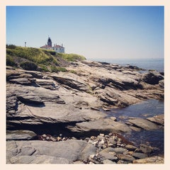 Photo taken at Beavertail State Park by Adam A. on 6/10/2012