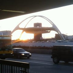 Photo taken at Terminal 7 by Christopher J. on 6/7/2012