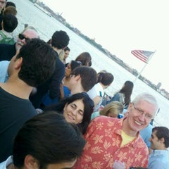 Photo taken at Half Moon Party Boat by Austra Z. on 6/15/2012