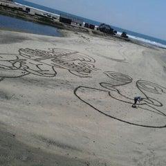 Photo taken at Oceanside Harbor N Jetty by Kristin P. on 5/11/2012