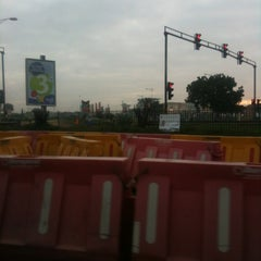 Photo taken at Spanner Junction Tetequashie Roundabout by Harold A. on 6/29/2012
