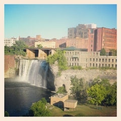 Photo taken at High Falls by Melissia D. on 7/15/2012