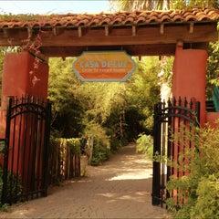 Photo taken at Casa de Luz by Allie C. on 6/24/2012