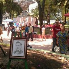 Photo taken at Jardín Del Arte by Arwina on 6/3/2012
